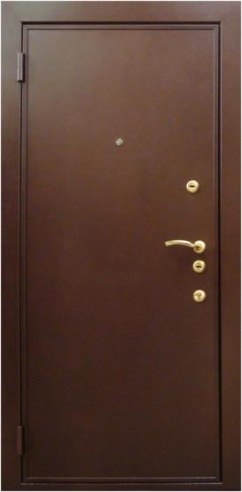 Входные двери Двери Белгородского производства  Фаворит 70 - порошковое покрытие медь антик