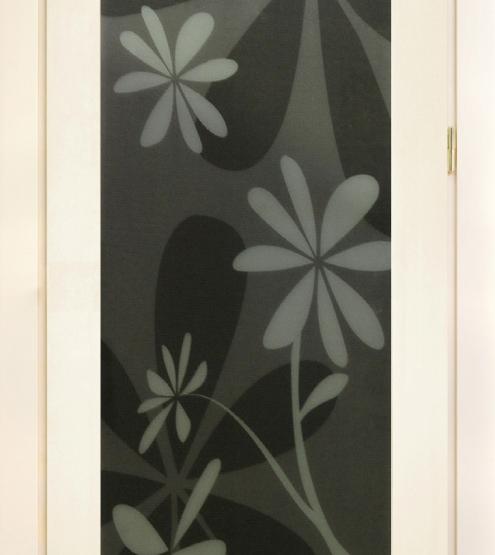 Межкомнатные двери Maestro Коллекция «Модерн» Премьера 400 триплекс с рисунком