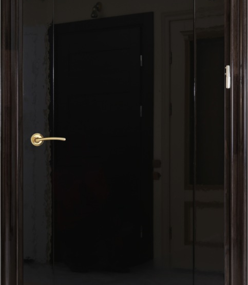 Межкомнатные двери Maestro Коллекция «Модерн» Премьера 400 черный триплекс