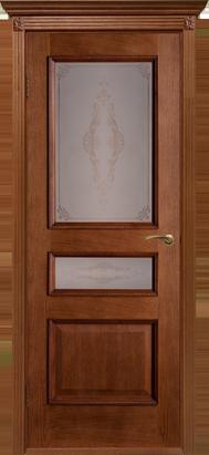 Межкомнатные двери Двери Белоруссии Шпон Вена ПО Орех-коньяк