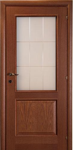 Межкомнатные двери Mario Rioli «PRIMO AMORE» (Шпон) Primo Amore 411 тонированный дуб