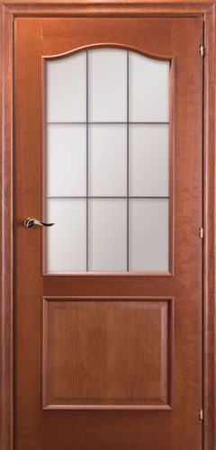 Межкомнатные двери Mario Rioli «PRIMO AMORE» (Шпон) Primo Amore 111С вишня амбра