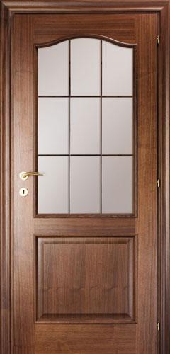 Межкомнатные двери Mario Rioli «PRIMO AMORE» (Шпон) Primo Amore 111С черный орех