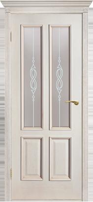 Межкомнатные двери Двери Белоруссии Шпон Прага ПО слоновая кость