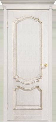 Межкомнатные двери Двери Белоруссии Шпон Престиж ПГ слоновая кость