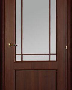 Межкомнатные двери Mario Rioli «SALUTO» (Ламинатин) Saluto 219L орех