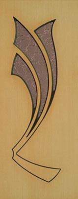 """Межкомнатные двери Ковровская Фабрика Дверей Шпон Рассвет ДО """"Дельта"""""""