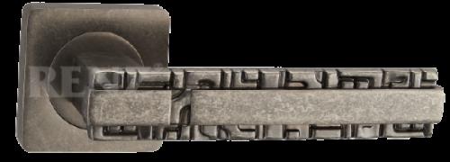 Фурнитура Ручки дверные Renz 265-odincovalam Анджело - состаренное серебро SL