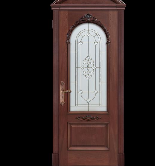 Межкомнатные двери Dariano Porte Премиум коллекция Барбара ДО витраж