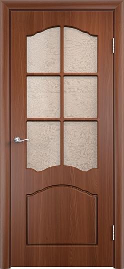 Межкомнатные двери Одинцово Двери облицованные ПВХ Лидия ДО стекло: Глория