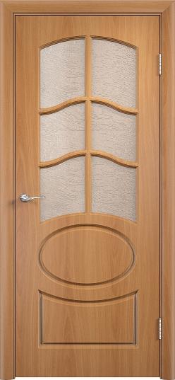 Межкомнатные двери Одинцово Двери облицованные ПВХ Неаполь-2 ДО стекло: Глория