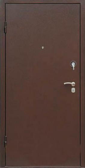 Входные двери Двери Белгородского производства  Фаворит 100 - внешнее покрытие медь антик