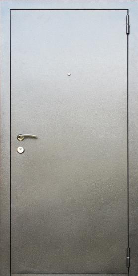 Входные двери Двери Белгородского производства  Фаворит 70 - внешнее покрытие серебро антик