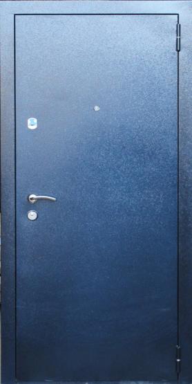 Входные двери Двери Белгородского производства  Фаворит 70 - внешнее покрытие RAL синий