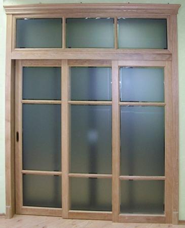 Межкомнатные двери Maestro Фрамуги и перегородки Дверь-купе + фрамуги