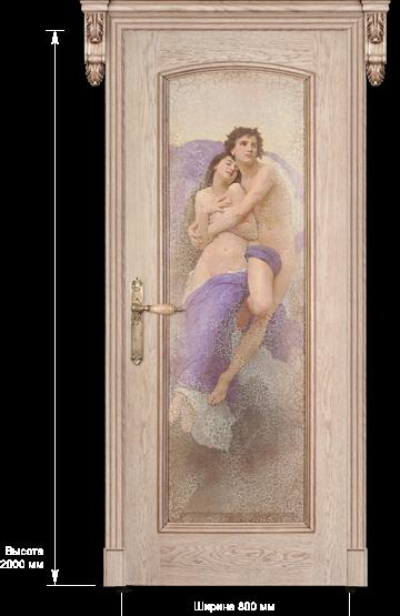 Межкомнатные двери Dariano Porte Премиум коллекция Селена ДГ фреска