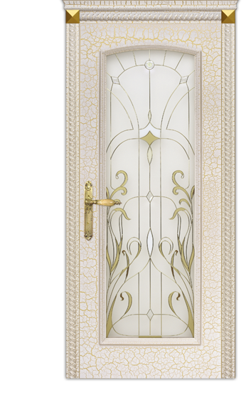 Межкомнатные двери Dariano Porte Премиум коллекция Селена ДО витраж
